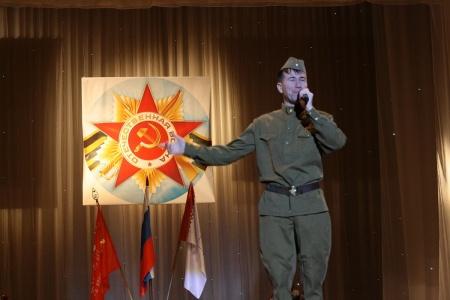 Открытие республиканского Месячника оборонно-массовой и военно-патриотической работы, посвященного 70-й годовщине Победы в Великой Отечественной войне 1941 - 1945 годов