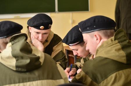 Соревнования  военно-патриотических клубов