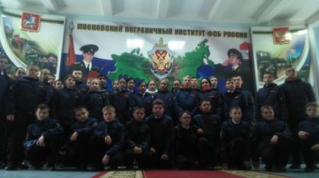 Кадетский сбор в Москве