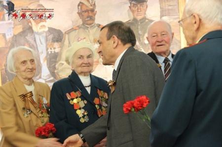 Встреча с участниками Великой Отечественной войны