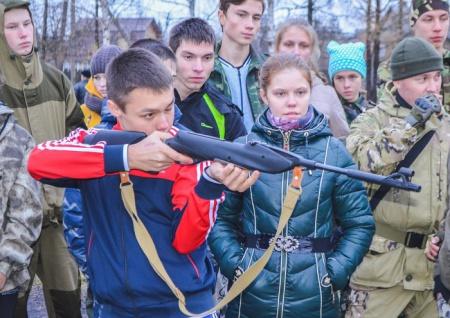 Осенний слет военно-патриотических клубов