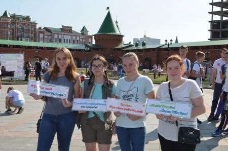 Праздник Трезвости в Царевококшайском Кремле