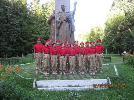 Юнармейцы выехали в Оренбургскую область на финал Зарницы Поволжья