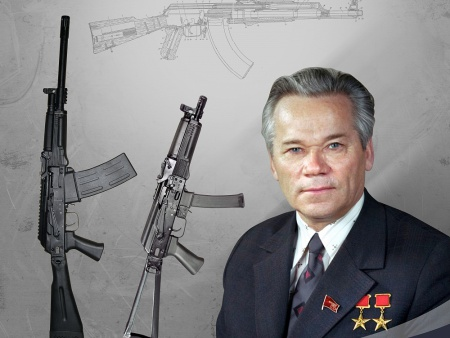 Блок сценария о конструкторе М. Калашникове
