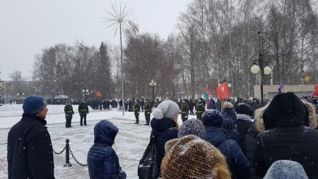 Торжественный митинг в честь 30-летия вывода Советских войск из Афганистана