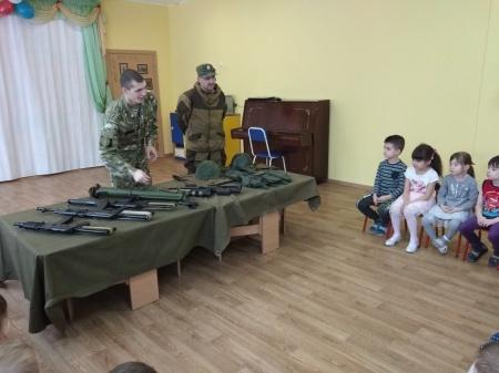 Военизированная эстафета с родителями