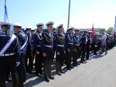 Парад Победы в г. Козьмодемьянск