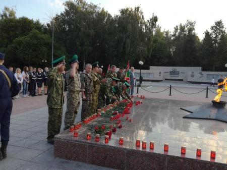 Акция в память защитников Брестской крепости