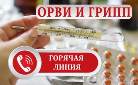 С 1 октября начинает свою работу Всероссийская «горячая линия» по профилактике гриппа и ОРВИ