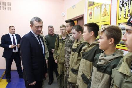 Встреча с председателем ДОСААФ России