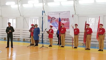 Слет юнармейцев Оршанского района
