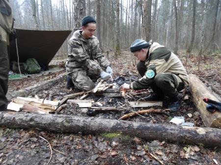 Полевой выход для воспитанников военно-патриотических объединений республики