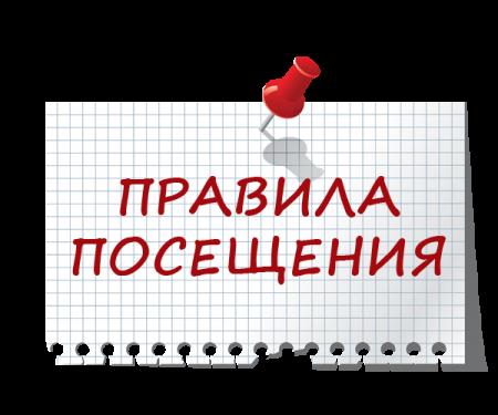 Правила посещения Дворца молодежи Республики Марий Эл