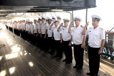12 декабря на фрегате «Паллада»