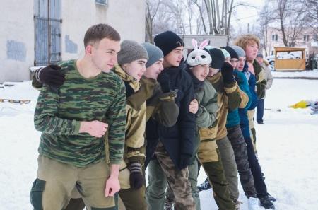 Рождественские игры и забавы для воспитанников военно-патриотических объединений республики
