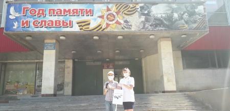 """Победитель песенного марафона ко Дню России """"Родина любимая моя"""""""