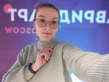 Региональный координатор Общественного движения «Волонтеры культуры» в #МарийЭл Ксения Белынцева находится на фестивале #ТавридаАРТMoscow
