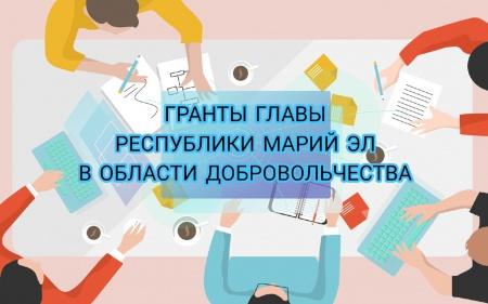 гранты Главы Республики Марий Эл в области добровольчества (волонтерства)