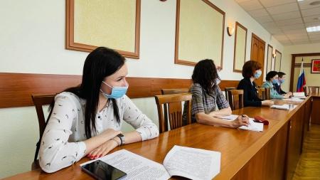 Заседание Совета по развитию добровольчества (волонтерства) при Главе Республики Марий Эл.