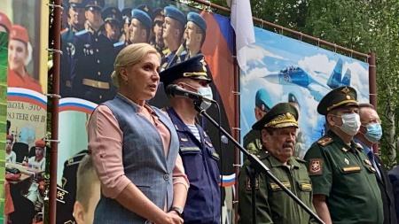 в Авангарде прошло открытие первой летней смены «Кадеты России»
