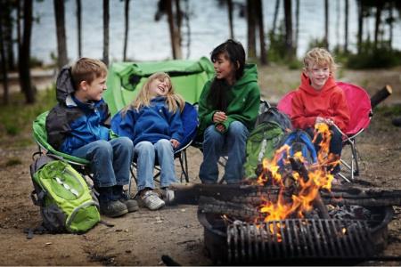 Безопасность детей в туристическом походе